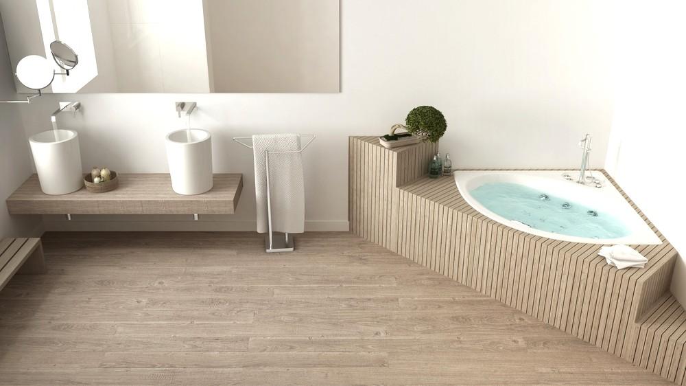 pavimento in pvc come ristrutturare il bagno - Nanni Giancarlo